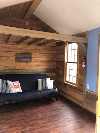 """Eastham Cape Cod vacation rental - Hit of the Property—""""Tiny House"""" hangout,deck,slider, ceiling fan"""