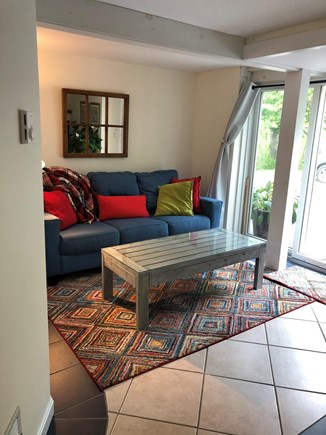 Eastham Cape Cod vacation rental - Sitting area lower level apartment; Separate entrance