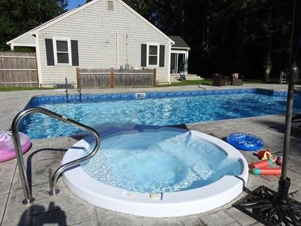 Centerville Centerville vacation rental - Backyard salt water pool
