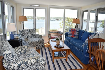 Wellfleet Cape Cod vacation rental - Main seating area