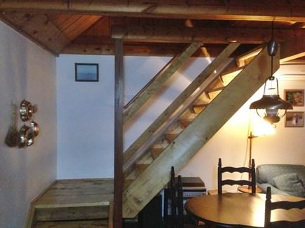 Wellfleet Cape Cod vacation rental - Stairway to loft