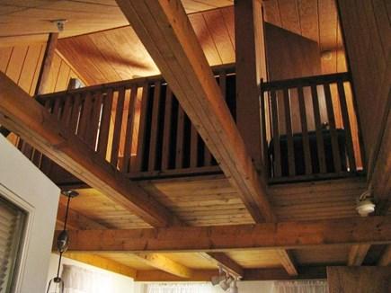 Wellfleet Cape Cod vacation rental - View to the loft bedrooms