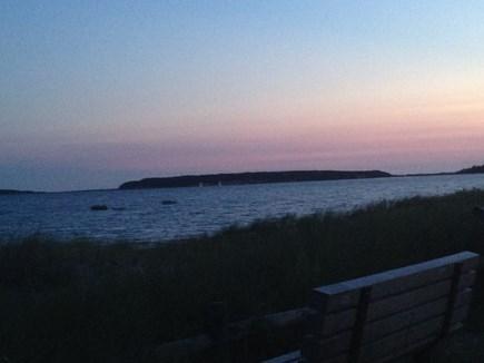 Wellfleet Cape Cod vacation rental - Sunset in Wellfleet Harbor
