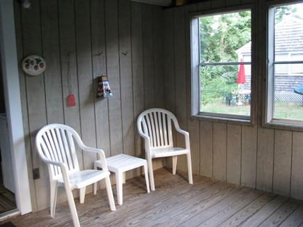 Wellfleet Cape Cod vacation rental - Enclosed porch