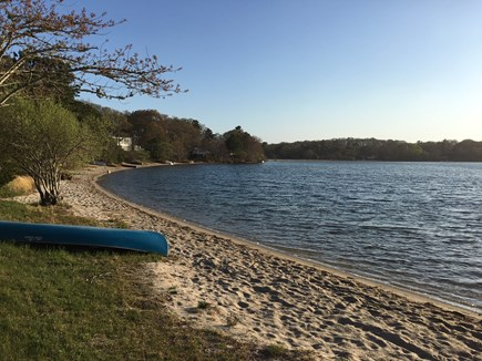 Mashpee, John's Pond Cape Cod vacation rental - Private beach just 300' away! Great for swimming or kayaking