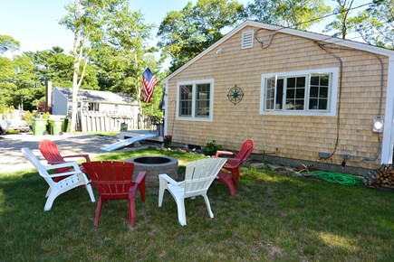 Mashpee, John's Pond Cape Cod vacation rental - Outdoor fire pit