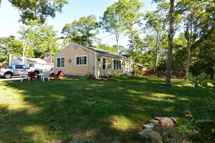 Mashpee, John's Pond Cape Cod vacation rental - Large front yard for games and family fun
