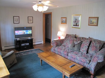 South Yarmouth Cape Cod vacation rental - Living room looking North