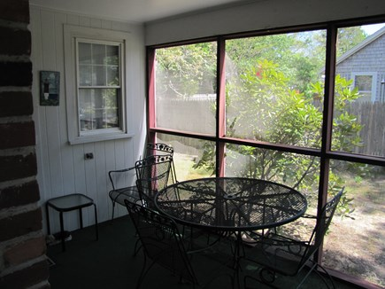 South Yarmouth Cape Cod vacation rental - Screen porch