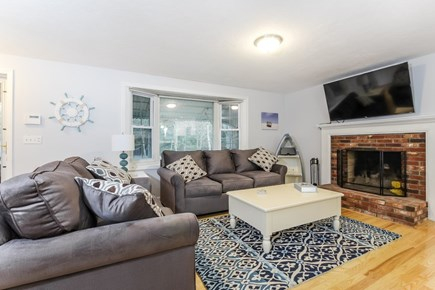 East Falmouth Cape Cod vacation rental - Living