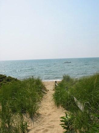 Eastham Cape Cod vacation rental - Beach Path to Kingsbury Beach - Private  Beach Access