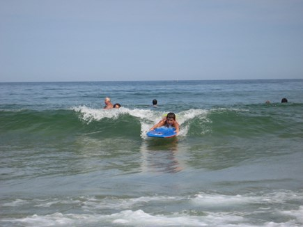 Eastham Cape Cod vacation rental - Low tide at the Atlantic side for surfing