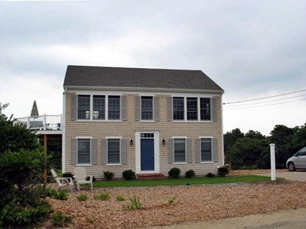 Eastham Cape Cod vacation rental - View of the house overlooking the ocean