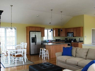 Eastham Cape Cod vacation rental - Kitchen and eating area