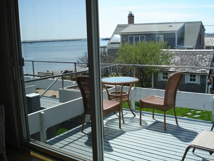 Provincetown Cape Cod vacation rental - Your private deck looking over the ocean
