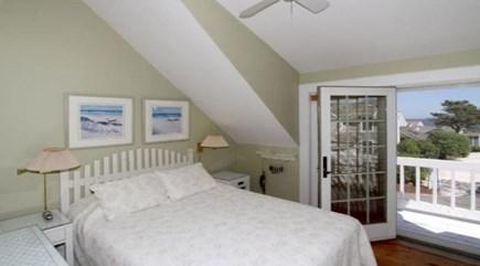New Seabury, Mashpee New Seabury vacation rental - Master Bedroom with Queen Bed & Ocean Views & Balcony