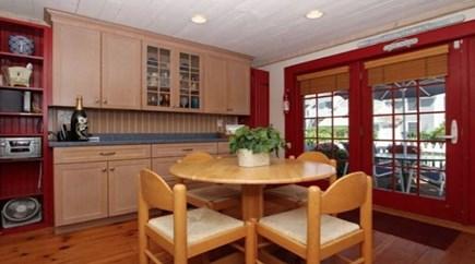 New Seabury, Mashpee New Seabury vacation rental - Kitchen showing front door facing front patio