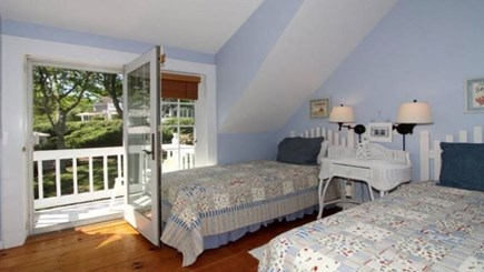 New Seabury, Mashpee New Seabury vacation rental - 2nd Bedroom w/ 2 twin beds and terrace