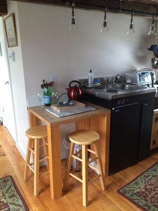 Truro Cape Cod vacation rental - Simple, compact  kitchen, all one needs on vacation ..