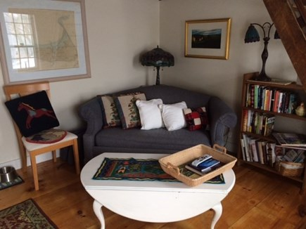 Truro Cape Cod vacation rental - Cozy, comfortable living room , perfect for reading and relaxing