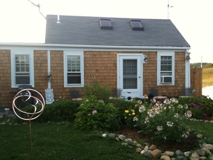 Truro Cape Cod vacation rental - Studio exterior - faces south with lovely view of gardens