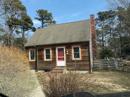 Eastham Cape Cod vacation rental - Front view of house.