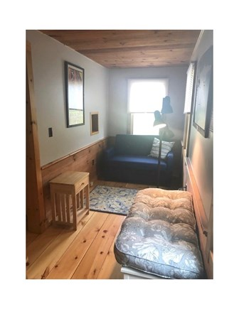 Eastham Cape Cod vacation rental - The first floor bedroom has a twin pull out couch.