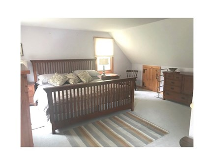 Eastham Cape Cod vacation rental - The king size bedroom room with 3 way ventilation on 2nd floor.
