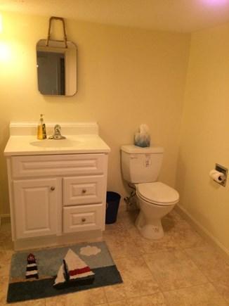 South Dennis Cape Cod vacation rental - Lower level 1/2 bath