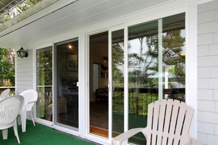 South Dennis Cape Cod vacation rental - Sliders provide amazing views