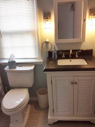 South Dennis Cape Cod vacation rental - Main level full bath with tub & shower