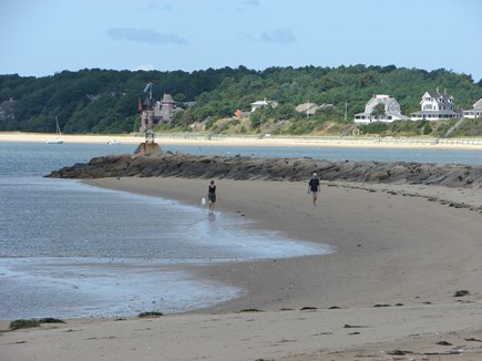 Wellfleet Cape Cod vacation rental - Quiet Bay waters at Indian Neck Beach