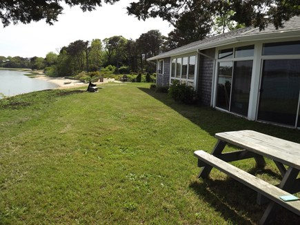 Chatham Cape Cod vacation rental - Back of Home facing Bassing Harbor/ Little Pleasant Bay.