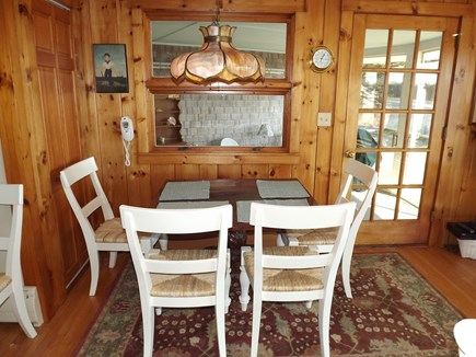 Chatham Cape Cod vacation rental - Dining Area Open to Both the Kitchen and Living Room.