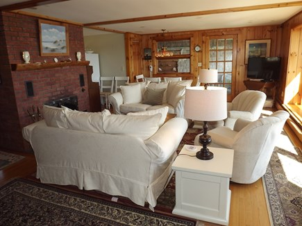Chatham Cape Cod vacation rental - Living Room with Spectacular Views facing East.
