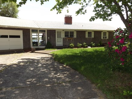Chatham Cape Cod vacation rental - Front of Home From the Long Private Driveway.
