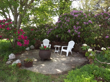 Chatham Cape Cod vacation rental - Shady Sitting Area in The Front of Home.