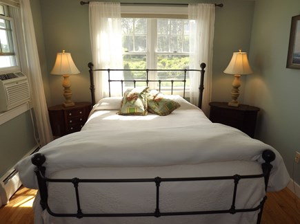 Chatham Cape Cod vacation rental - Queen Bedroom with AC Unit and Views.