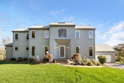 Eastham Cape Cod vacation rental - Custom built to site, tall windows + 6 skylights = sun and views!