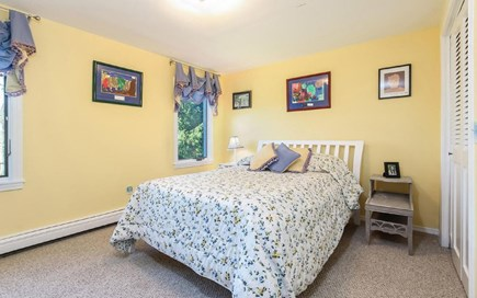 Eastham Cape Cod vacation rental - Upstairs bedroom with double bed, spacious closet