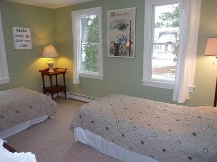 Eastham Cape Cod vacation rental - Lovely downstairs BR with 2 twins