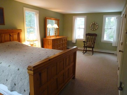 Eastham Cape Cod vacation rental - Large master BR upstairs w queen, skylight, lots of closet space