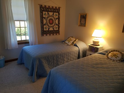 Dennis Cape Cod vacation rental - 2nd twin bedroom