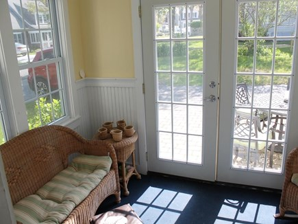 Harwich Port Cape Cod vacation rental - Glassed In Porch
