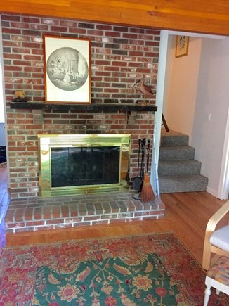 Wellfleet Cape Cod vacation rental - Headed upstairs to the 2 bedrooms and one bathroom