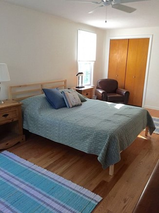 Wellfleet Cape Cod vacation rental - Ceiling fan for air movement is usually all you need on the OC