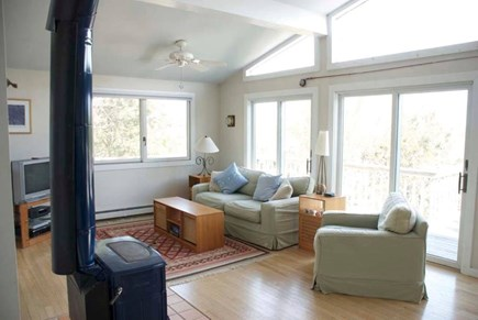 Wellfleet Cape Cod vacation rental - Spacious, bright, open living room