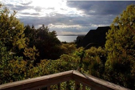 Wellfleet Cape Cod vacation rental - View of Cape Cod Bay from the Deck