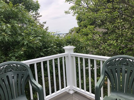 Wellfleet Cape Cod vacation rental - Water views from the deck