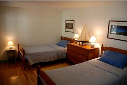 Wellfleet Cape Cod vacation rental - Twin Beds in the Fourth Bedroom